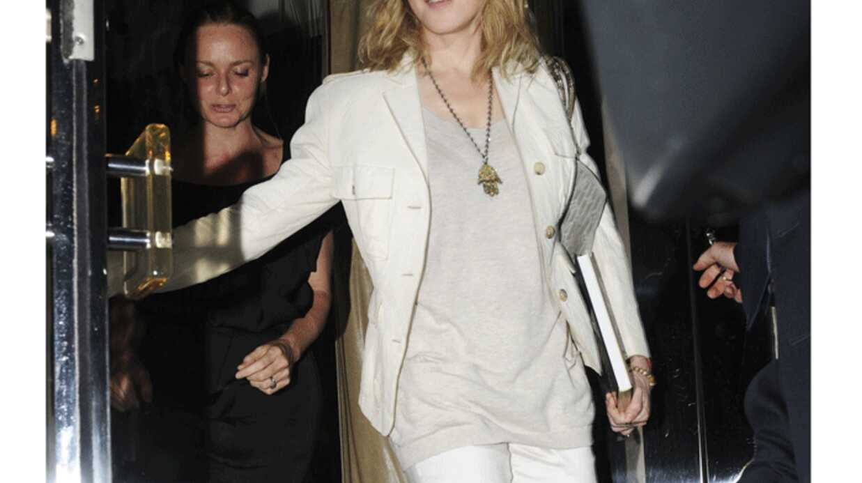 LOOK Madonna lance la mode du panta-long