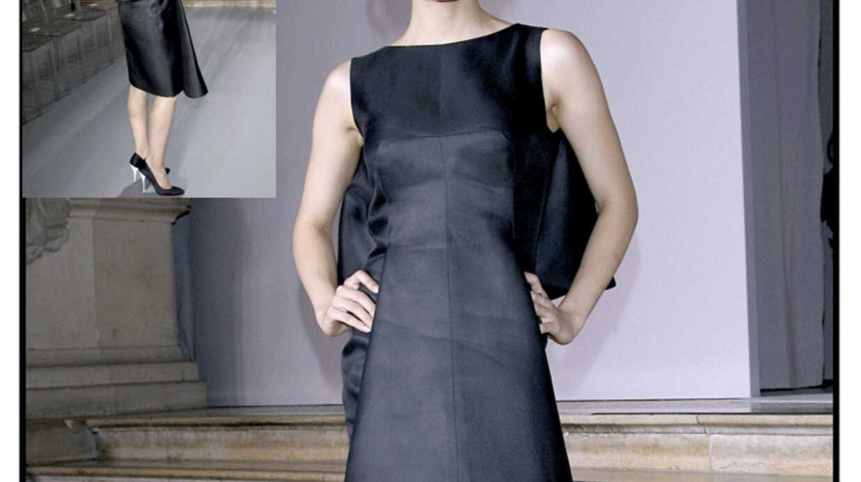 LOOK Sofia Essaïdi en aigle noir