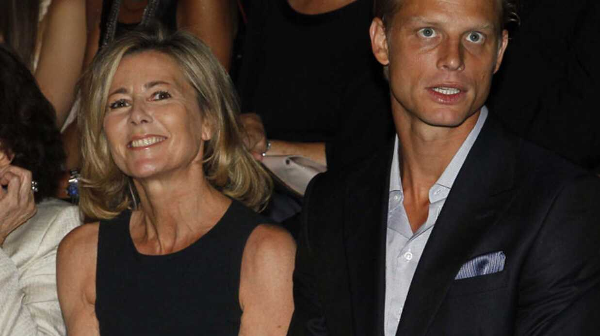 Claire Chazal: une bague au doigt d'Arnaud Lemaire