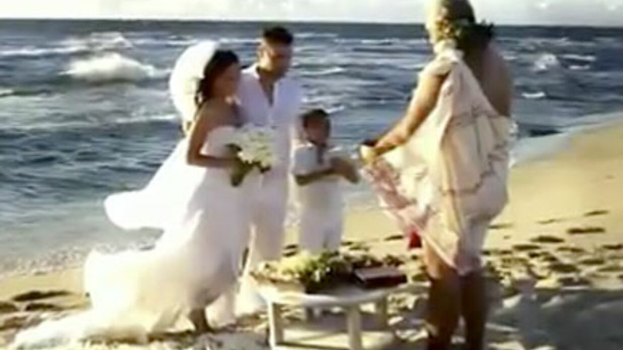 Megan Fox: premières images de son mariage hawaïen