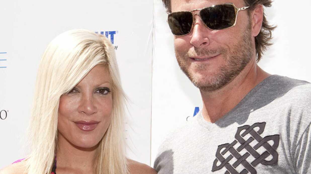 Tori Spelling: son mari tiré d'affaire après son accident