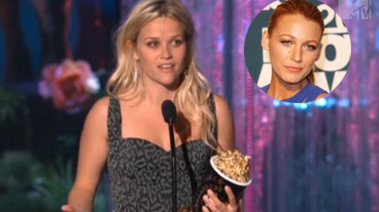 Reese Withers­poon met Blake Lively mal à l'aise aux MTV MA