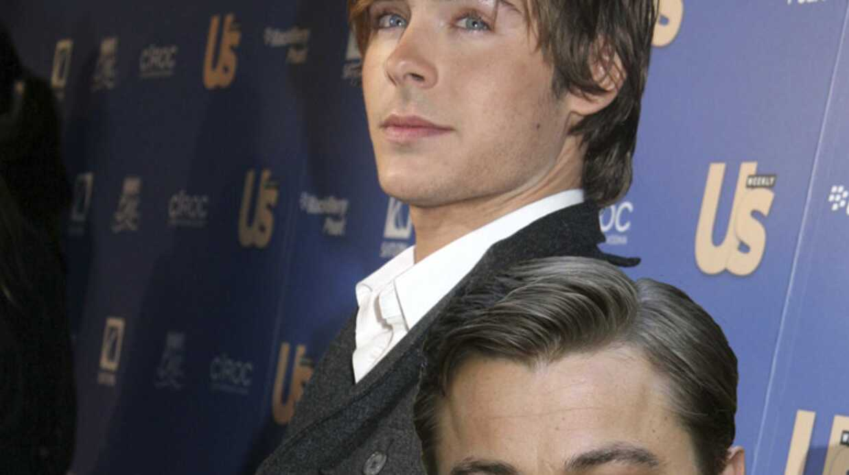 Leonardo DiCaprio admire Zac Efron