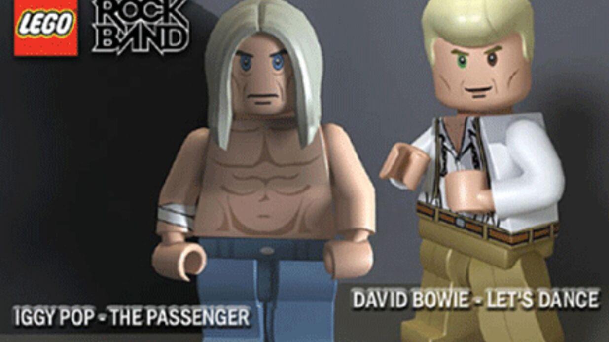 Légo: des figurines à l'effigie de David Bowie et d'Iggy Pop