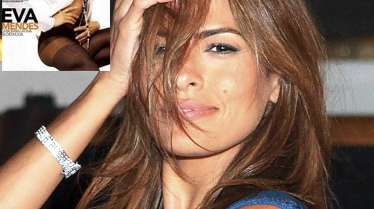 Eva Mendes nue dans DT Magazine