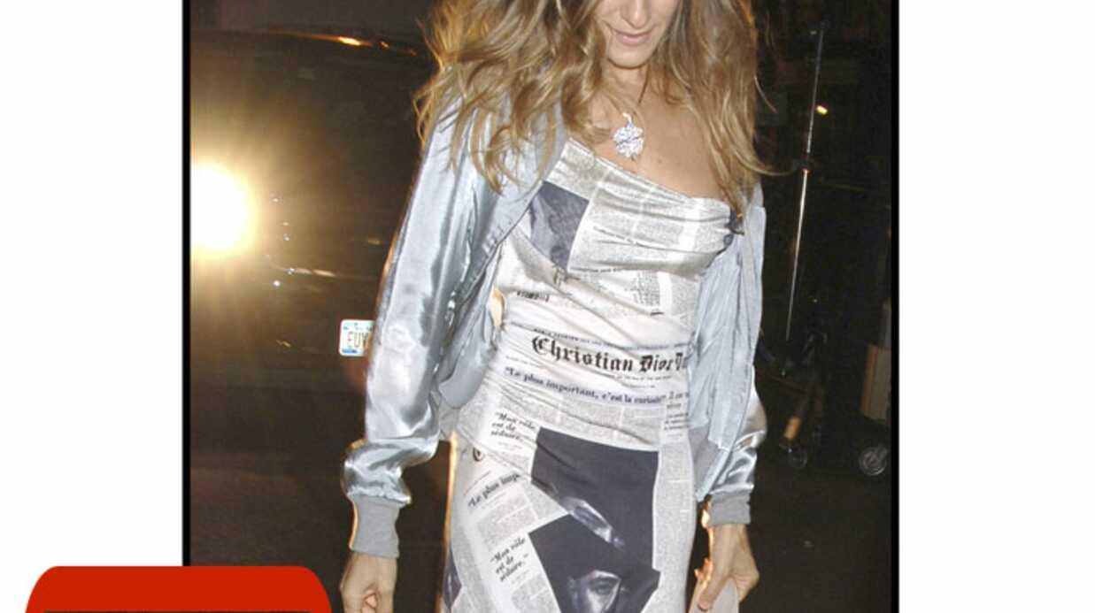 LOOK Sex and the City 2 : Sarah Jessica Parker célèbre Chris­tian Dior
