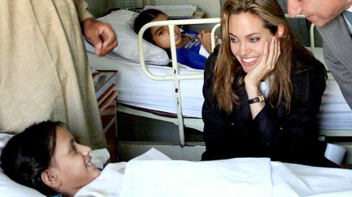 Angelina Jolie au Pakistan après les inondations