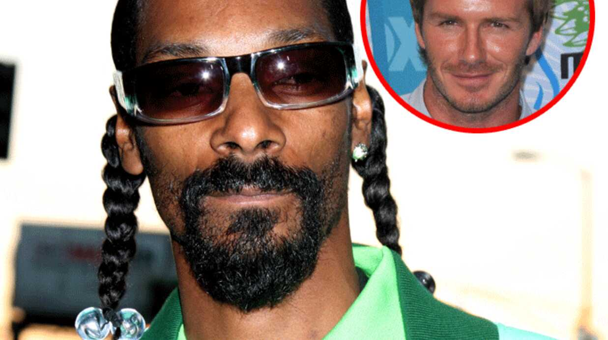 Snoop Dogg – David Beck­ham : un groupe en famille ?