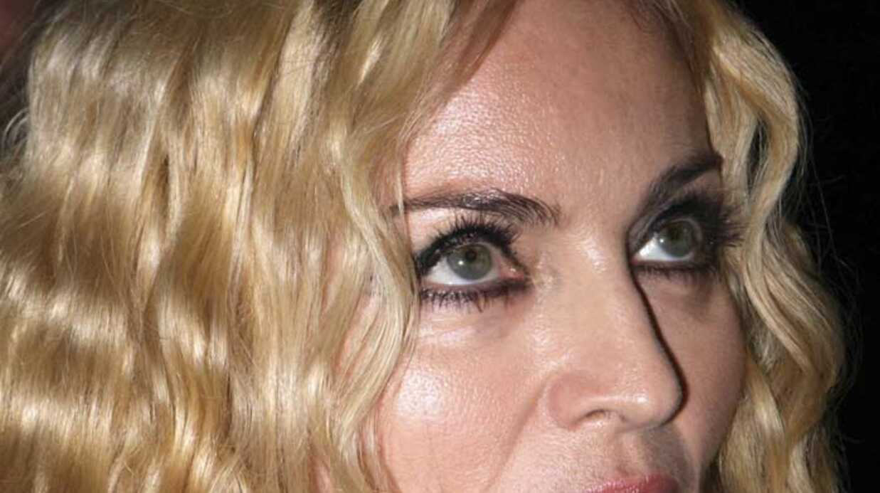 Madonna a fait don de 500.000 dollars à l'Italie
