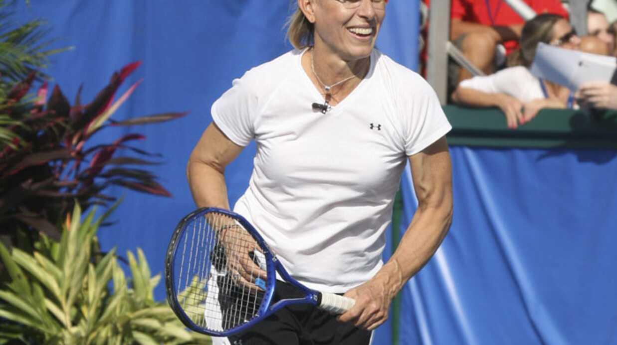 Martina Navratilova souffre d'un cancer du sein