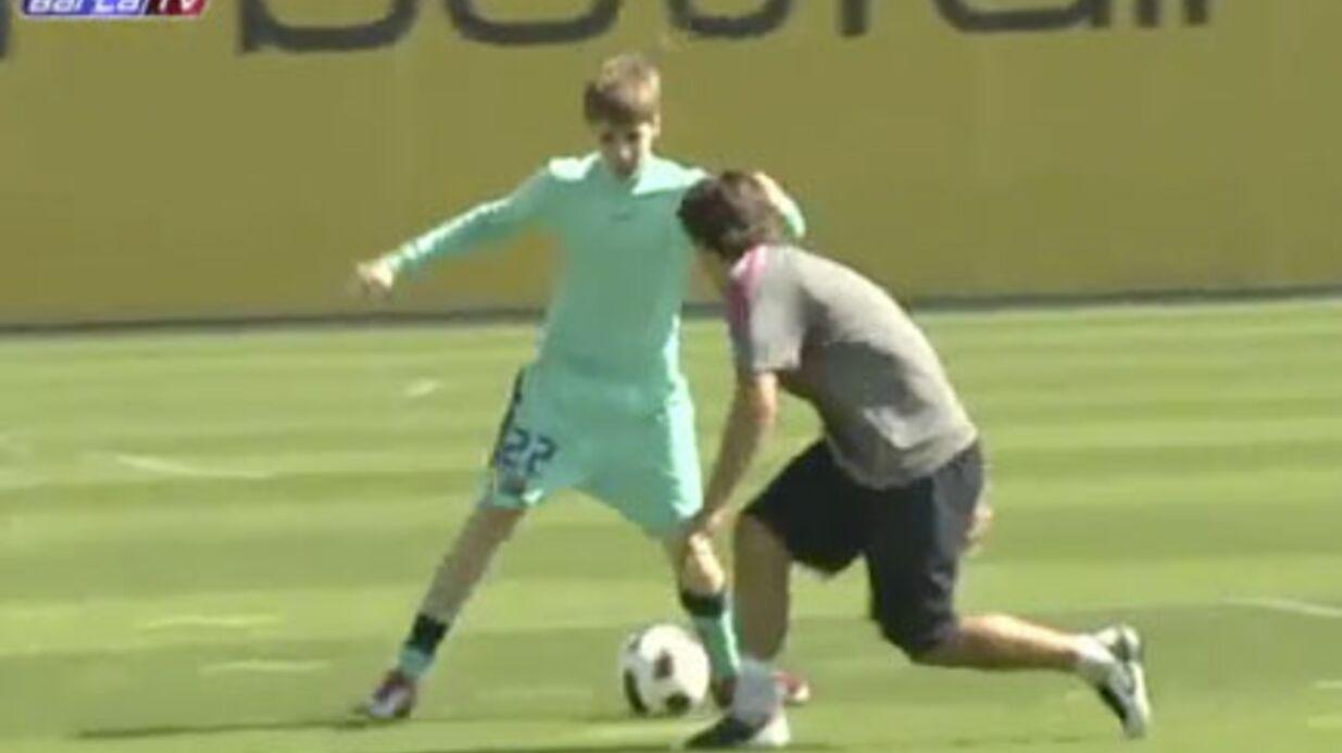 VIDEO Justin Bieber entraînement de choc avec le Barça