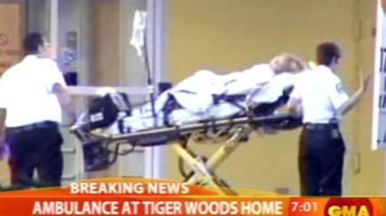 Tiger Woods: une femme transportée à l'hôpital