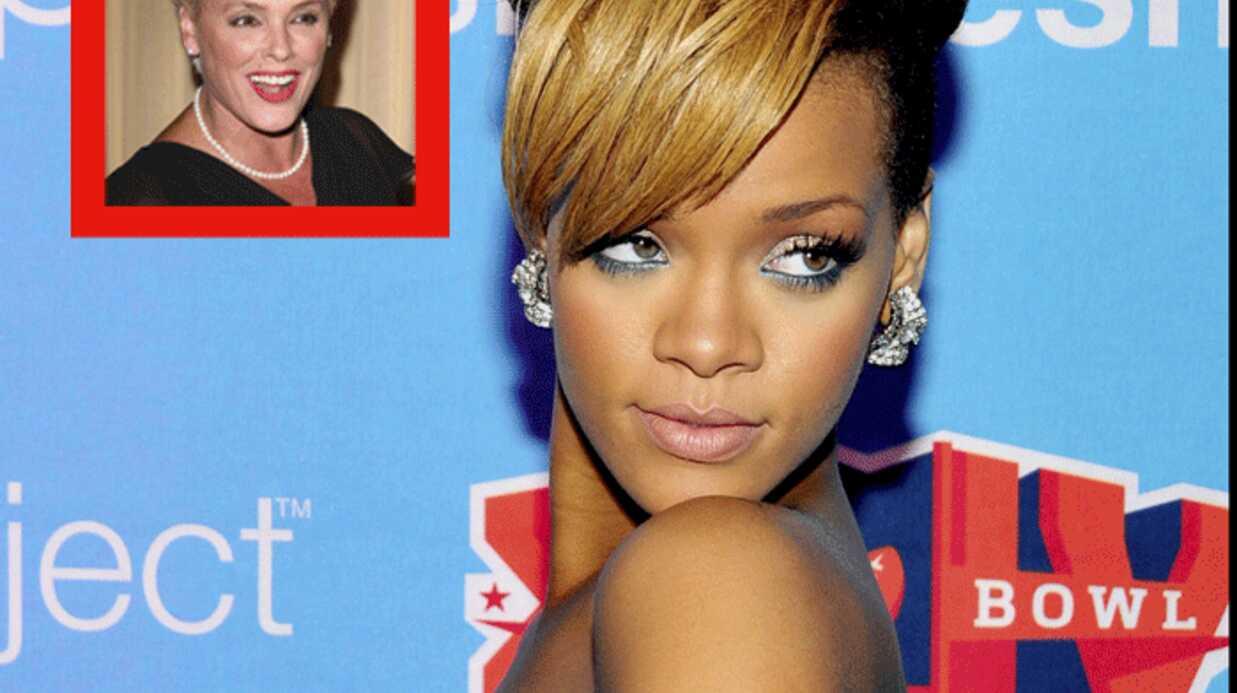 Rihanna adore le style de Brigitte Nielsen