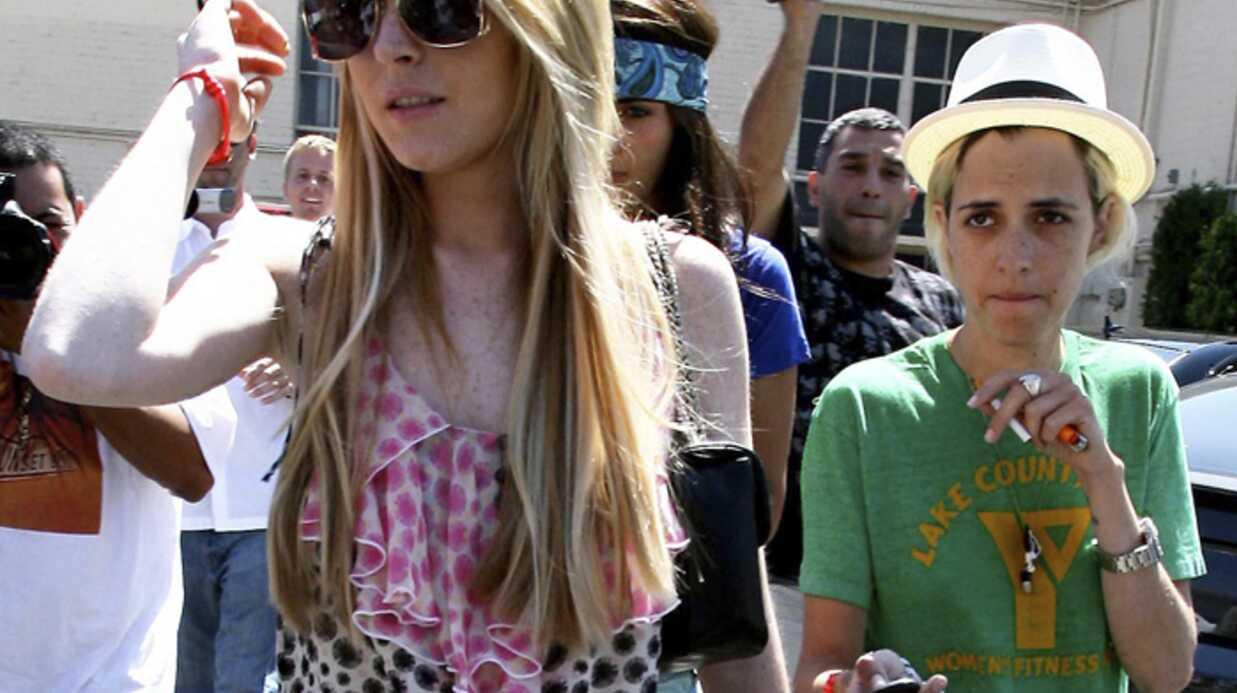 Samantha Ronson a offert à Lindsay Lohan une bague à 15.000 euros