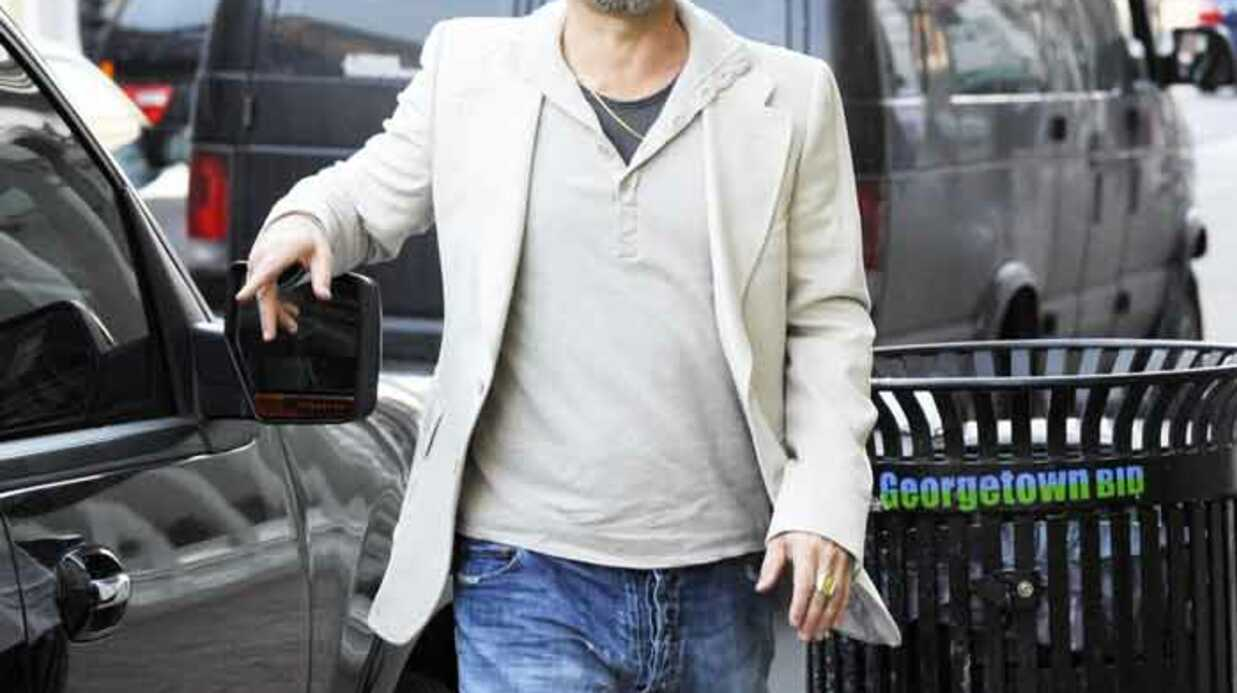 EXCLU Brad Pitt à Marseille aujourd'hui
