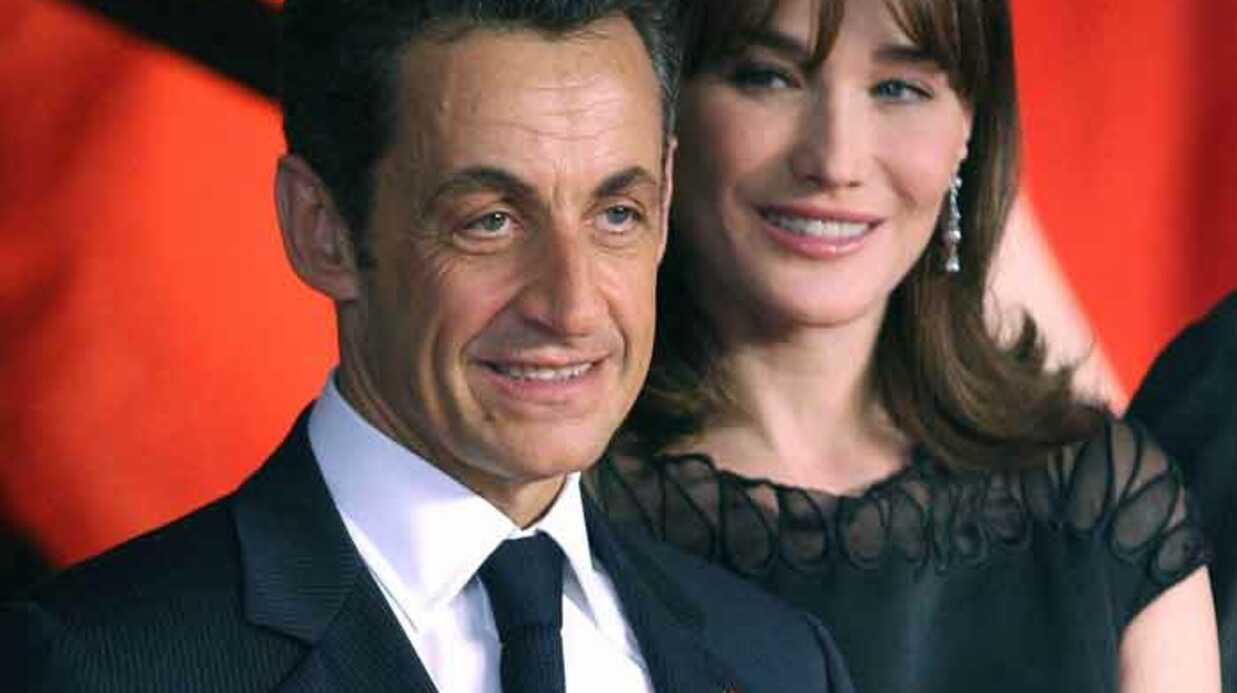Nicolas et Carla Sarkozy au concert de Julien Doré