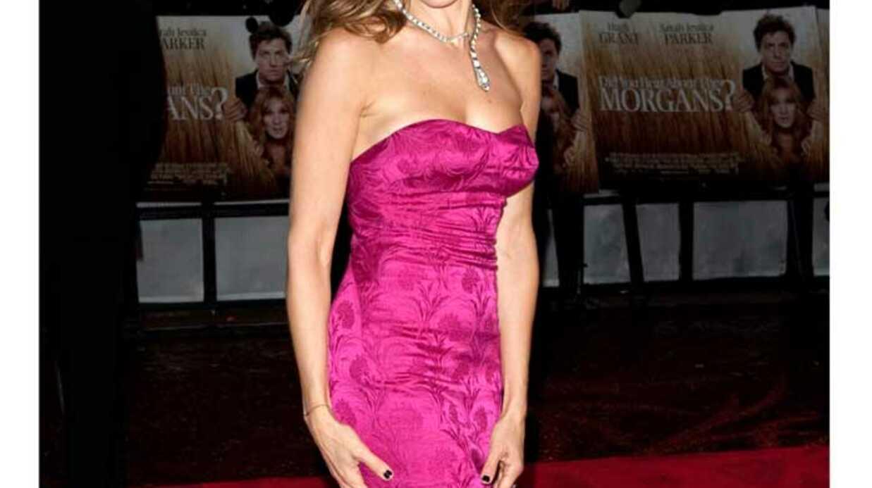 IDEE LOOK Sarah Jessica Parker ose la robe bustier