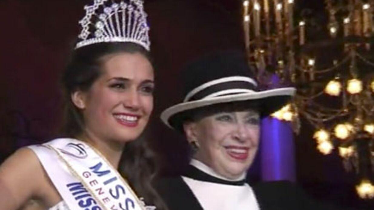 Miss Nationale au lancement des illuminations de Lambesc