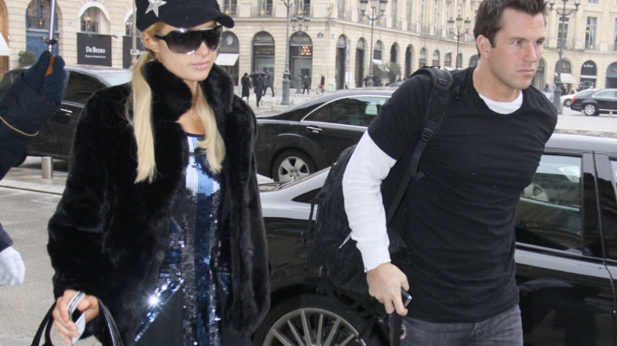 Paris Hilton et Doug Reinhardt: leur journée à Paris