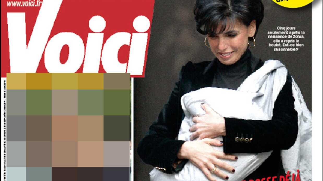 Rachida Dati demain en couverture de Voici!