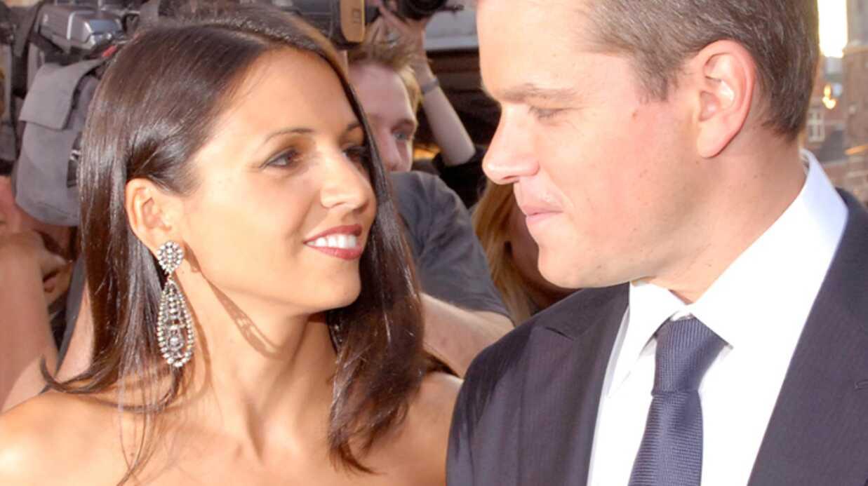 Matt Damon  Encore papa!