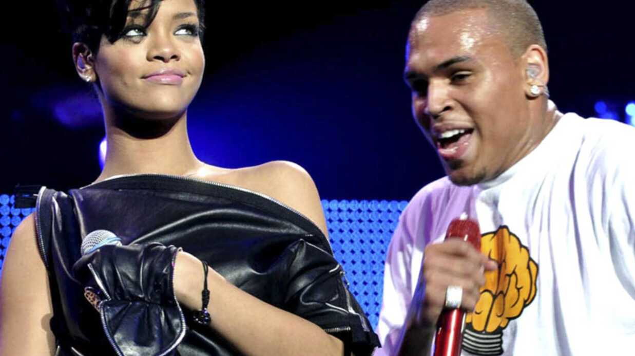 Rihanna et Chris Brown ensem­ble… en soirée sans P.Diddy