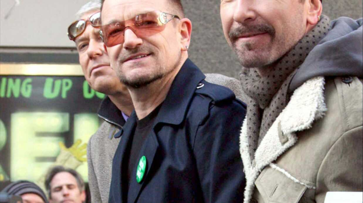 U2: en juillet au Stade de France et à Nice