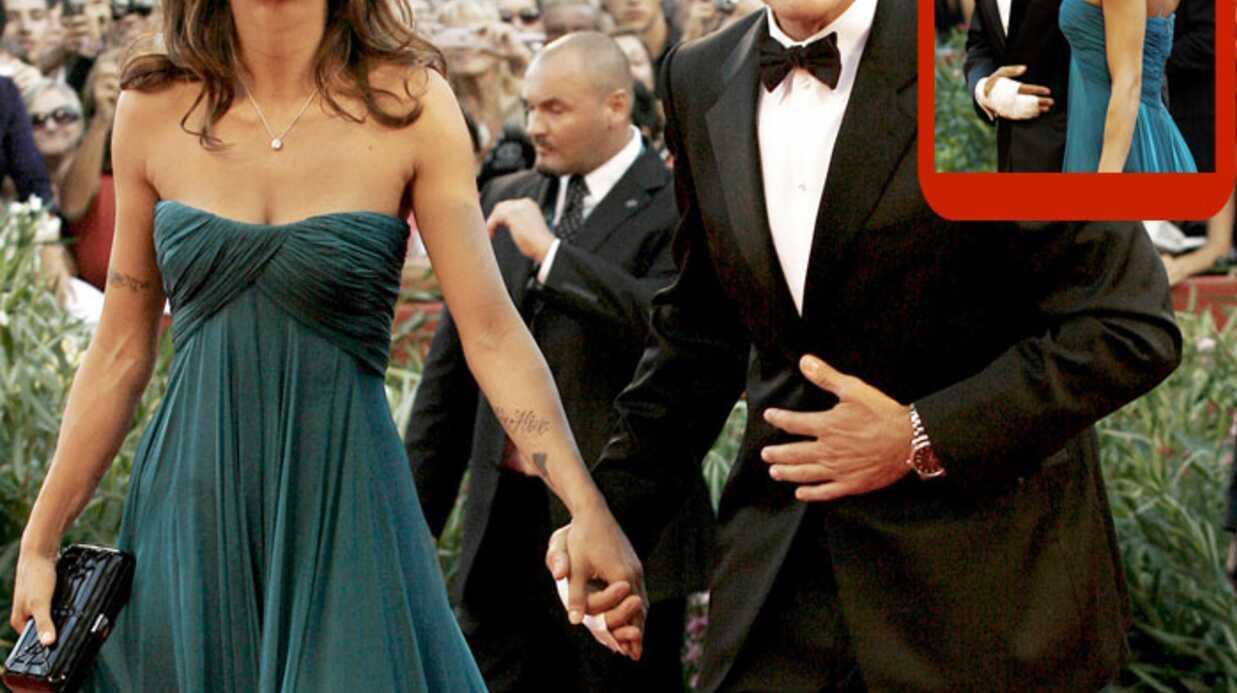 George Clooney et Elisabetta Canalis à la Mostra de Venise