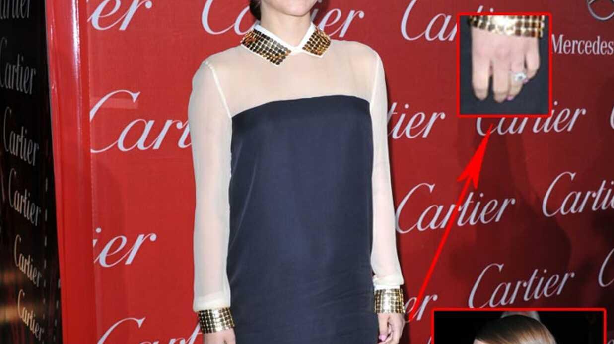 Natalie Portman enceinte: découvrez sa bague de fiançailles