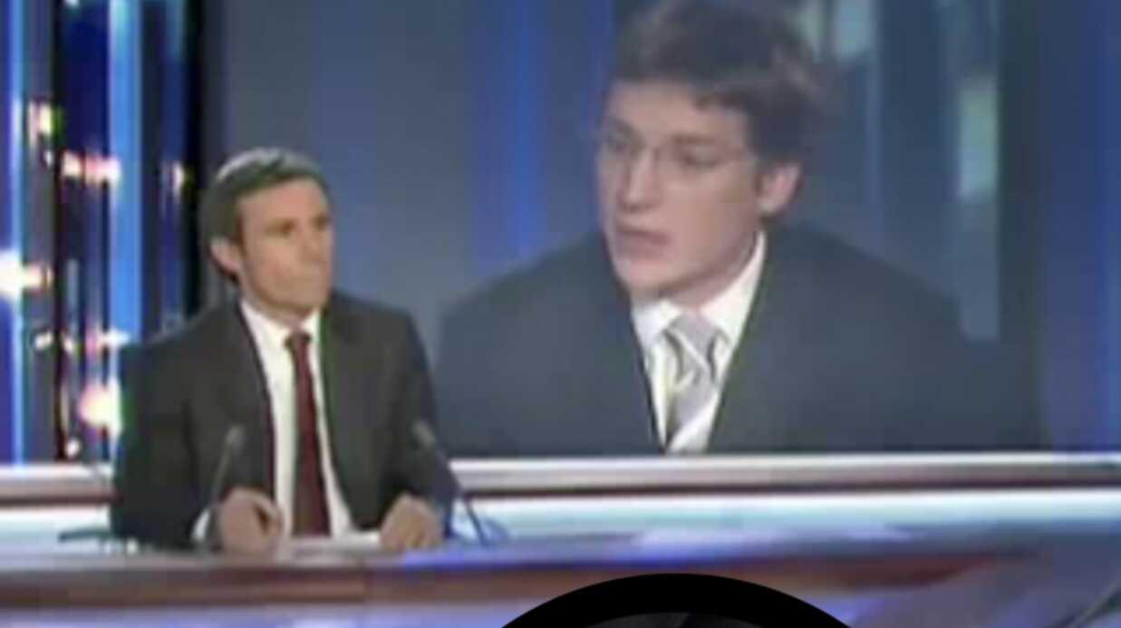 Jean Sarkozy au 20 heures: le détail qui tue