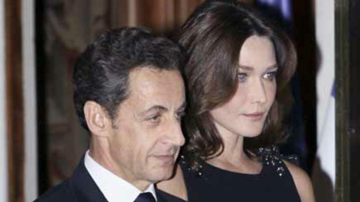 Nicolas Sarkozy et Carla Bruni  ont dîné avec Mohammed VI