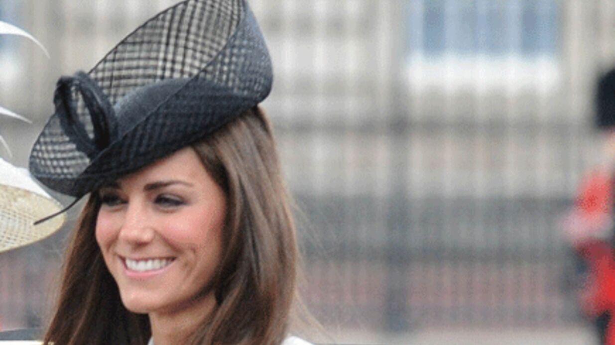 Princesse Kate: souriante aux 85 ans de la reine Elizabeth II