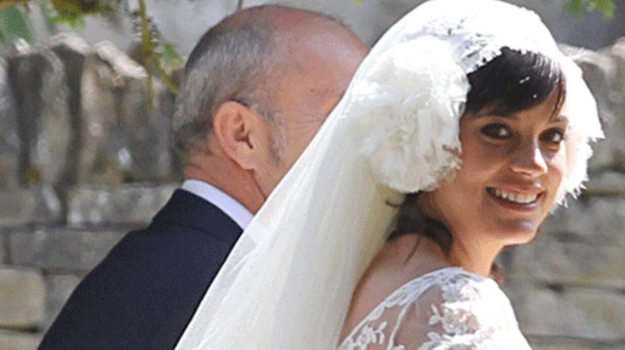 Lily Allen: mariée… et enceinte!