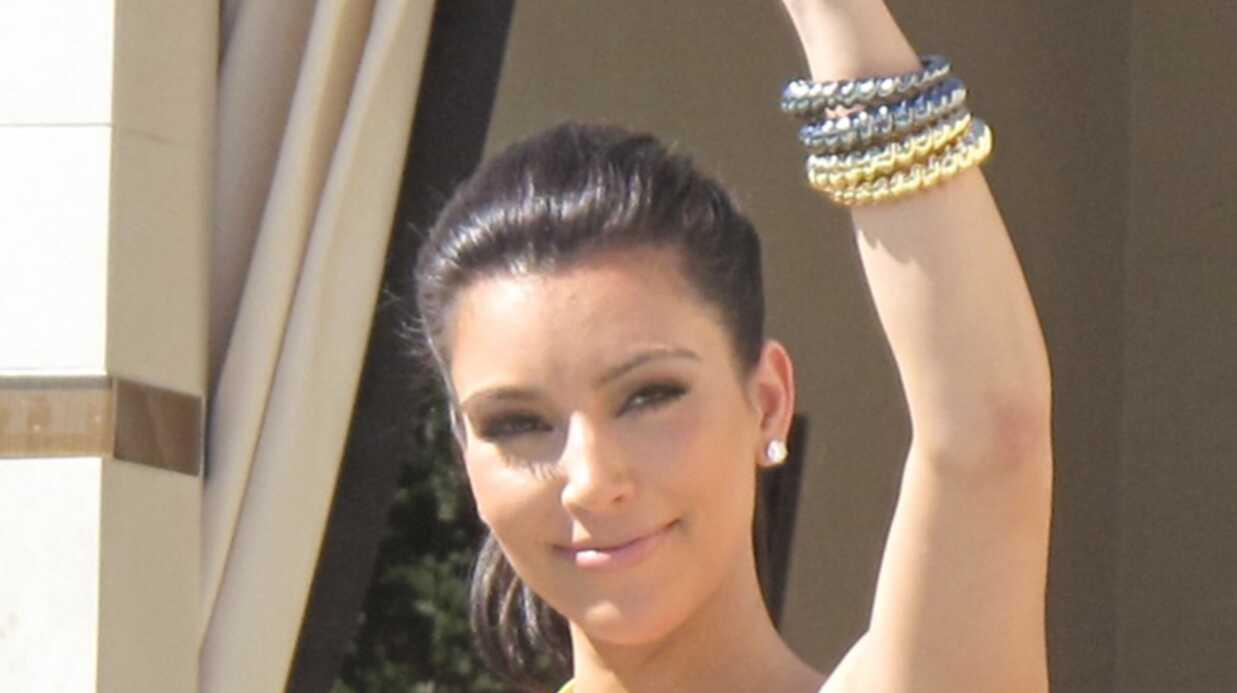 Kim Kardashian parle de ses problèmes de poils