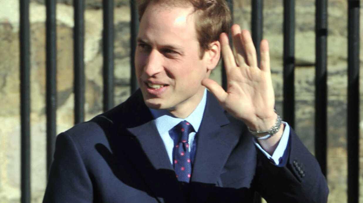 Le Prince William refuse de porter une alliance