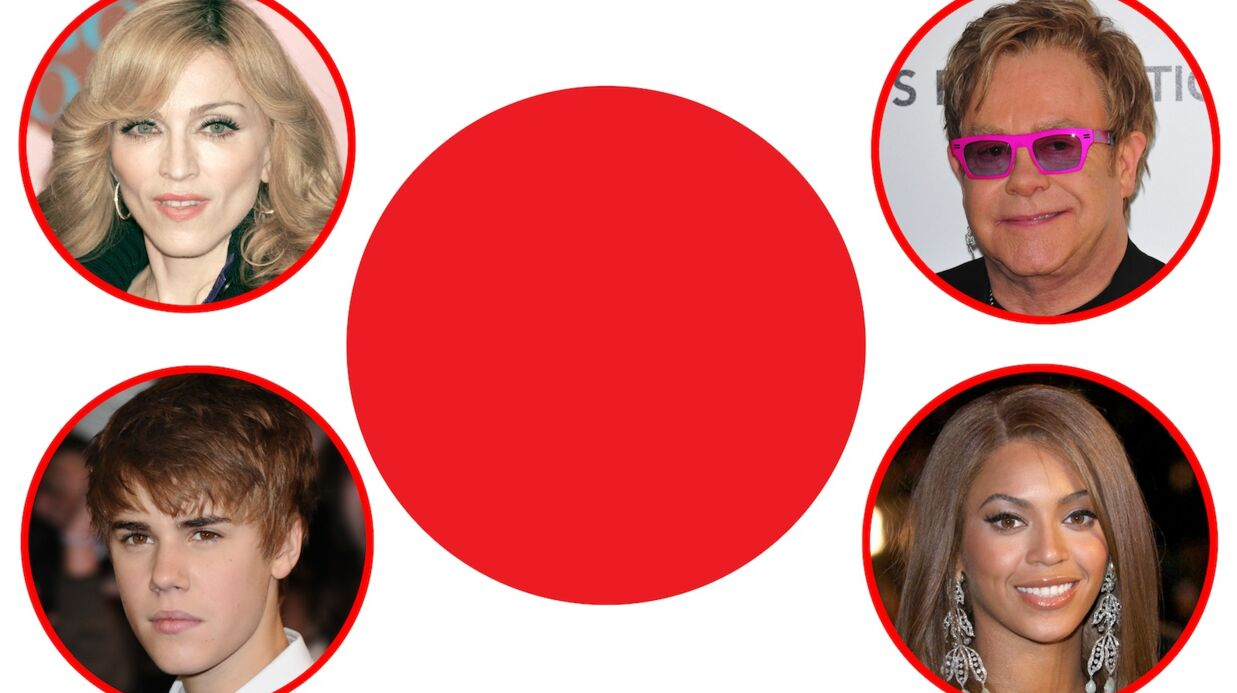 Japon: Madonna, Justin Bieber et 36 autres stars sortent «Songs for Japan»