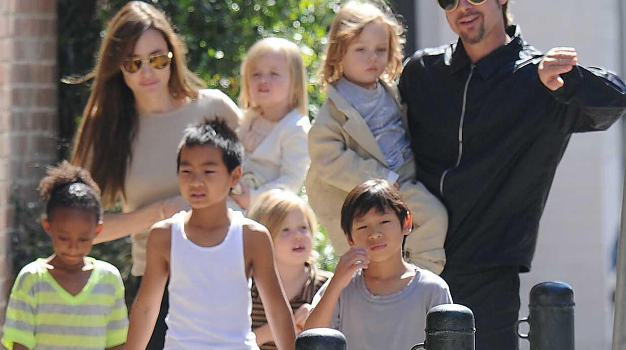 Angelina Jolie parle souvent de l'adoption avec ses enfants