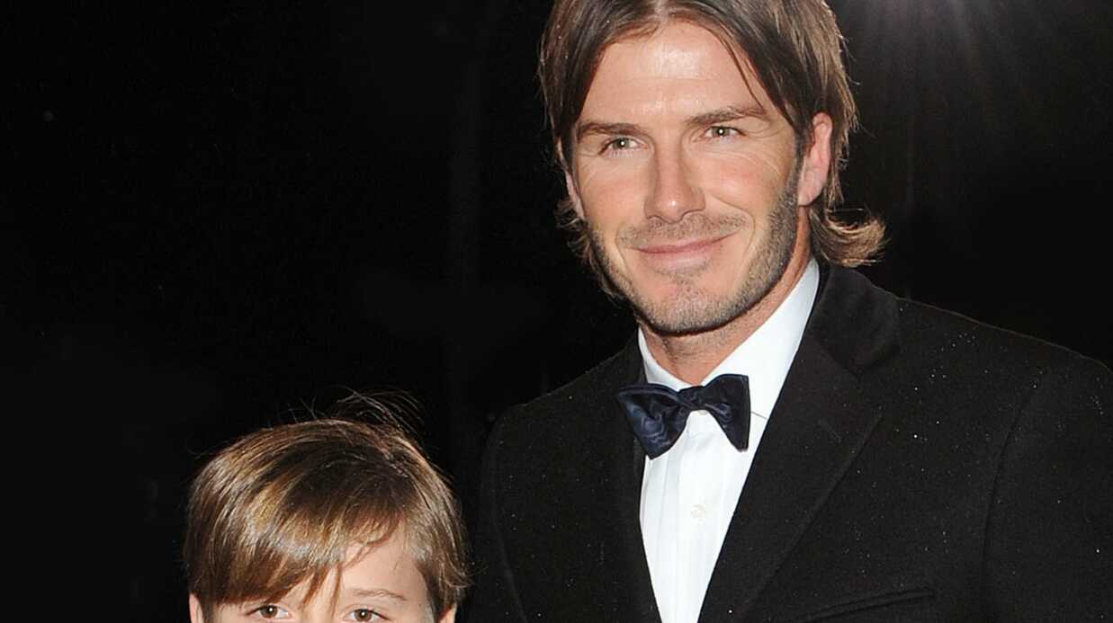 David Beckham et son fils ont eu un accident de voiture