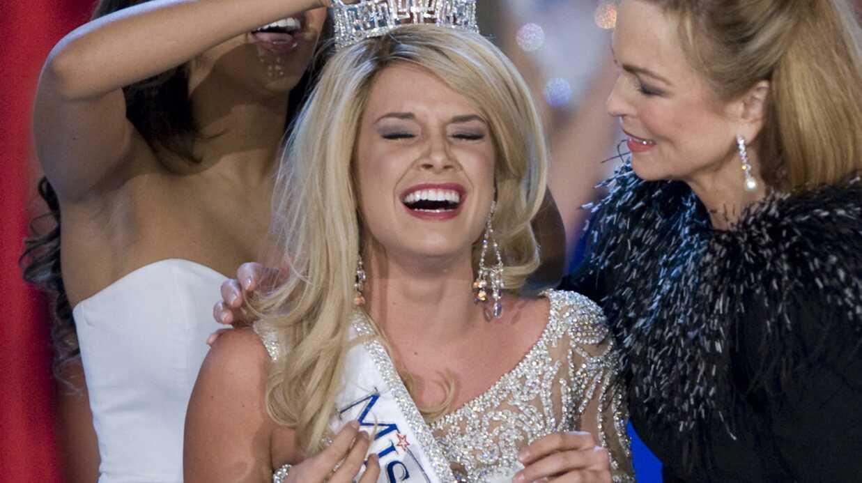 Photo de la nouvelle Miss Amérique élue hier soir