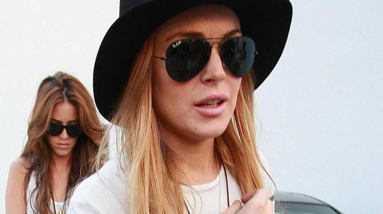 Lindsay Lohan: un déséquilibré la menace!