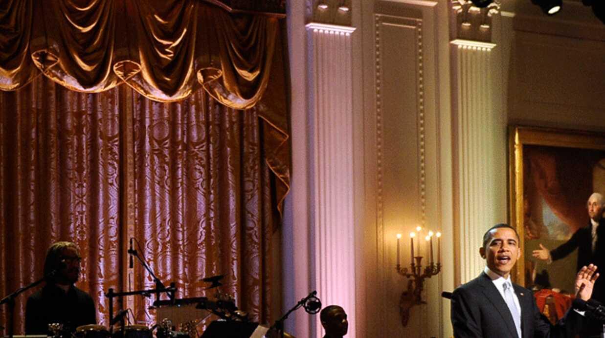 Barack Obama a fêté les 50 ans de la Motown à la Maison Blanche