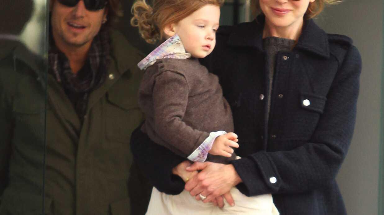 A 2 ans, la fille de Nicole Kidman est un enfant prodige!