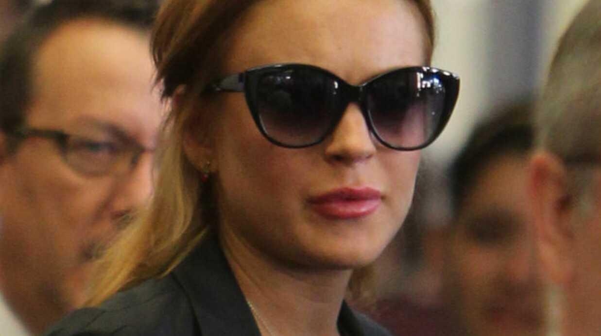 15 heures de détention pour Lindsay Lohan