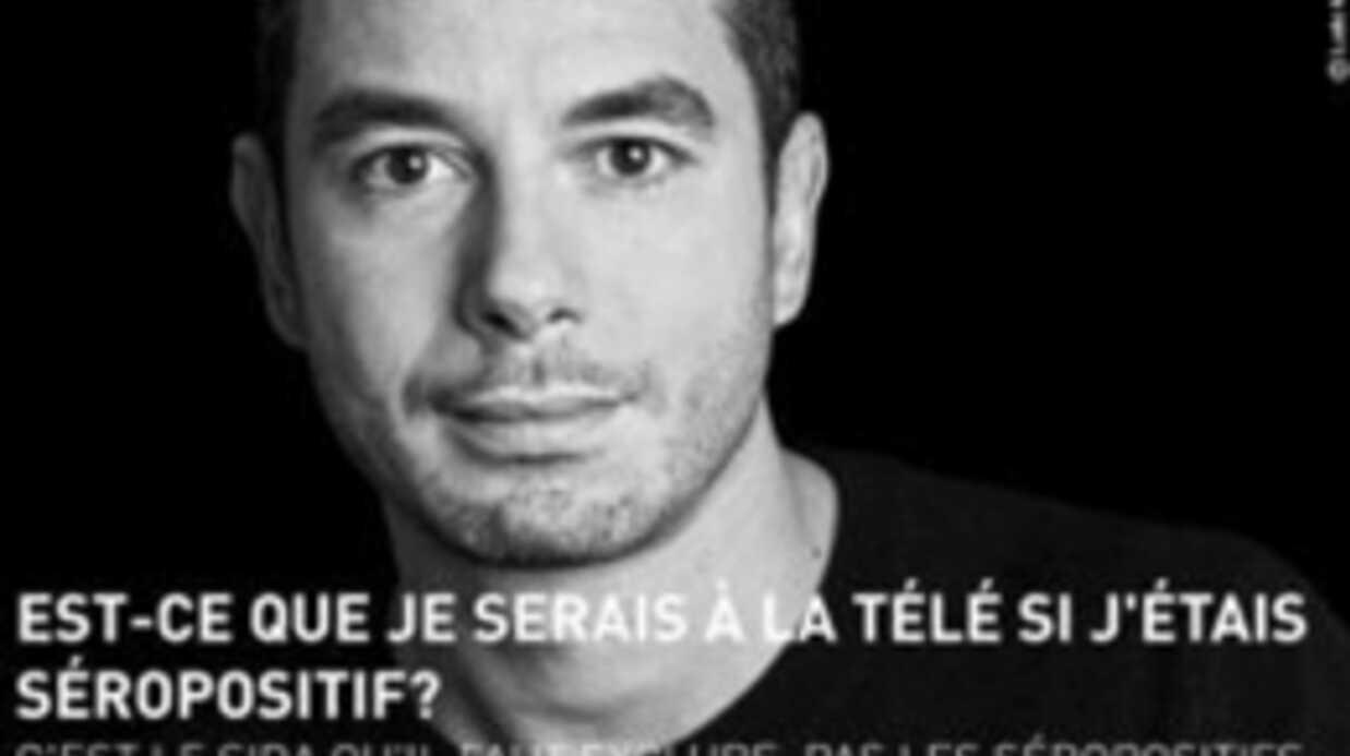 Ali Baddou: dans une campagne contre le sida au Maroc
