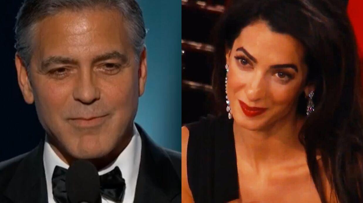 VIDEO George Clooney: sa touchante déclaration d'amour à sa femme lors des Golden Globes