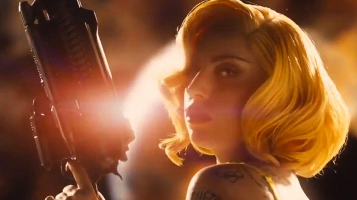 VIDEO Lady Gaga joue les tueuses sexy dans Machete Kills
