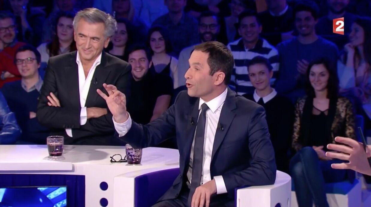 VIDEO Benoît Hamon envoie un tacle bien senti à Yann Moix dans ONPC