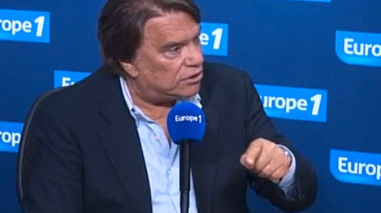 En colère, Bernard Tapie claque (deux fois) la porte d'Europe 1