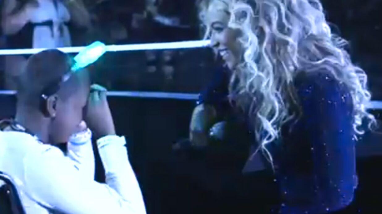 VIDEO Beyoncé exauce le dernier vœu d'une fillette malade