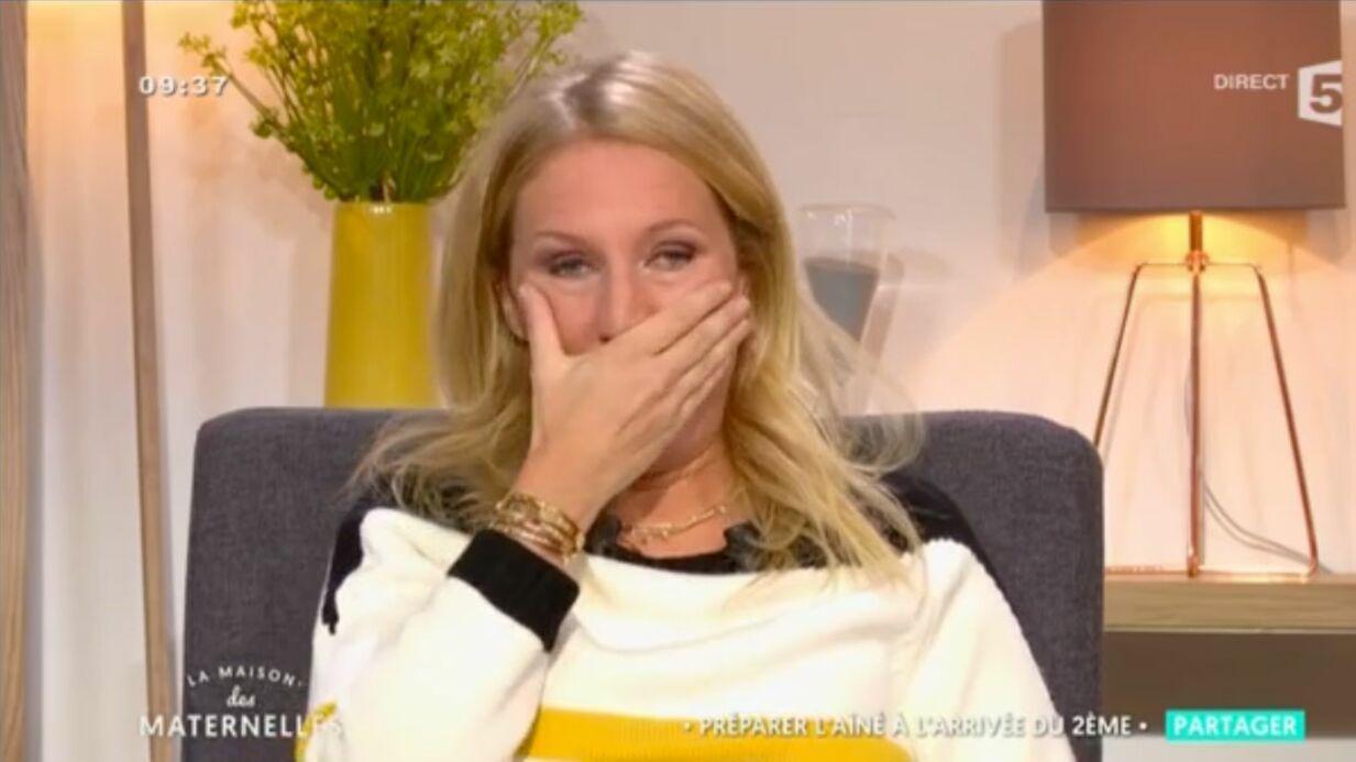 VIDEO Agathe Lecaron fond en larmes sur le plateau des Maternelles à cause de son fils
